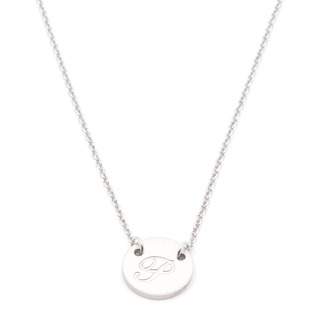 Silverworks X1800 Letter P Necklace