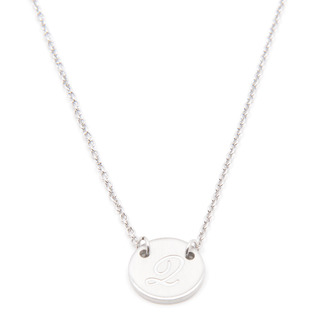 Silverworks X1801 Letter Q Necklace