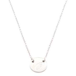 Silverworks X1791 Letter G Necklace