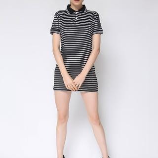 Uropa Black Polo Dress (AUV002082)