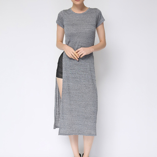 Uropa Gray OpenWaist Dress (AUV002060)