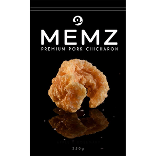 MEMZ Premium Pork Chicharon 250g