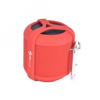 Zilla Tankrock Waterproof Bluetooth Speaker - Red