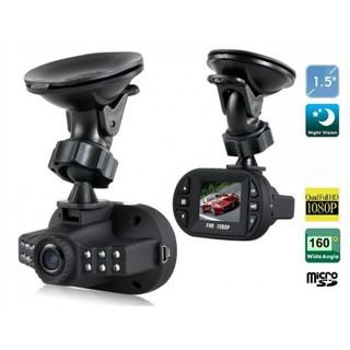 "1080P Mini 1.5"" Car Blackbox DVR With G-sensor And Cycle Recording - Black"