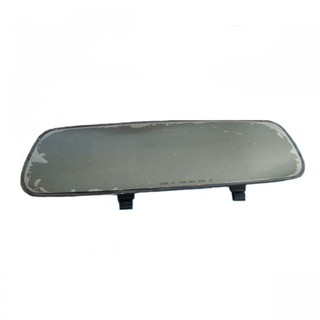Car Rear View Mirror with Camera Recorder - Black