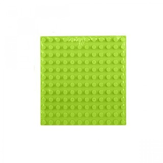 Duplo Plate 12 x 12 - Yellow/Green