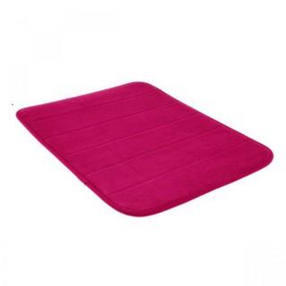 Memory Foam Bath Mat - Pink
