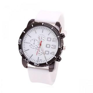 Men Stainless Sport Watch - White