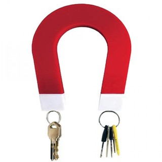 Magnetic Key Holder- Red/White