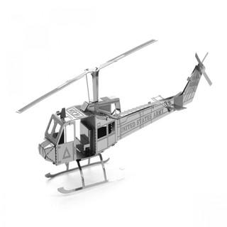 Metallic Nano Puzzle - Huey Helicopter