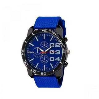 Men Stainless Sport Watch - Blue