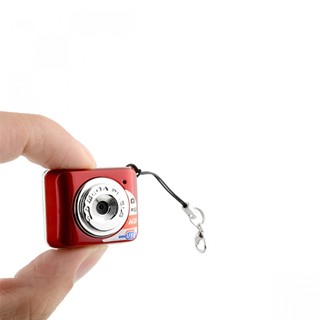 Mini Camcorder Keychain - Red