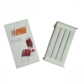 Fast Shish Express Brochette Tool For Meat - White