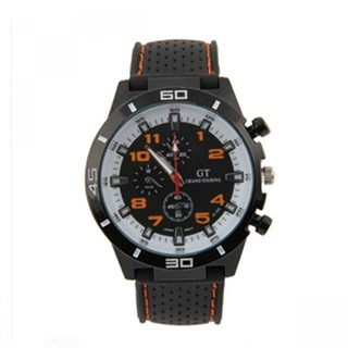 Water Resistant Grand Touring Racing Sport Watch -Orange