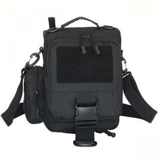 Utility Outdoor Shoulder Cross-body Bag - Black
