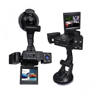 Two Camera Car DVR CCTV With IR