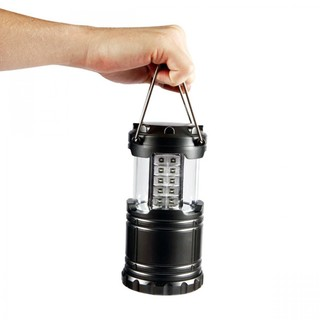 Portable Bright Camping  Light LED Lamp - Black