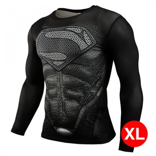 Super Hero Bike Wear Superman XL - Black