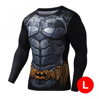 Super Hero Bike Wear Batman Large - Black