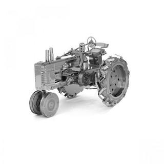 Metallic Nano Puzzle -  Farm Tractor