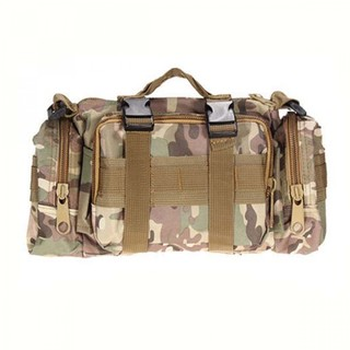 Utility Outdoor Body Bag - Brown Green