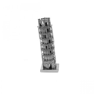 Metallic Nano Puzzle - Tower Pisa