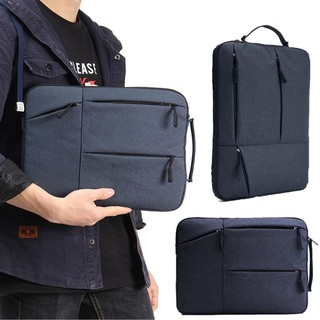 Portable 14 inch Laptop Sleeve Oxford Laptop Bag - Blue