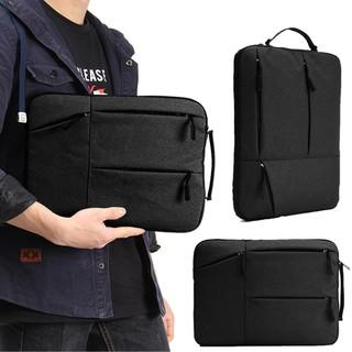 Portable 15.5 inch Laptop Sleeve Oxford Laptop Bag - Black