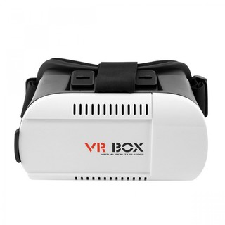 VR Virtual Reality Box 3D Glasses For Smartphone - White