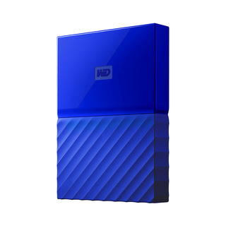WD MyPassport 1tb External Hard Drive (Blue)