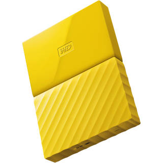 WD MyPassport 1tb External Hard Drive (Yellow)
