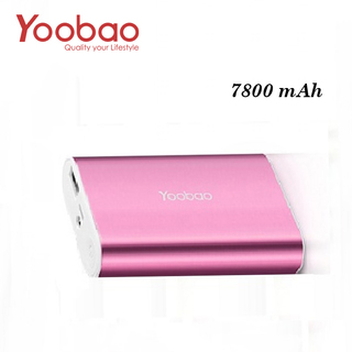 Yoobao Master Power Bank 7800mAh M3 - Pink