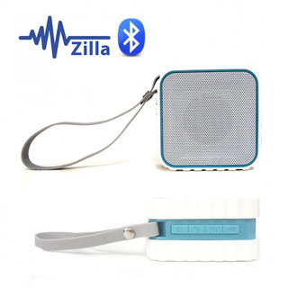 Zilla Water Resistant Bluetooth Speaker With NFC - White