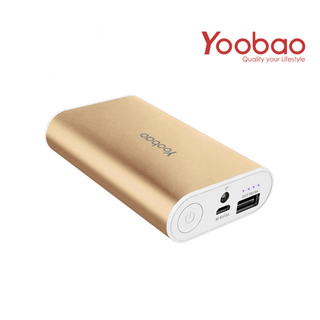 Yoobao Master Power Bank 7800mAh M3 - Gold