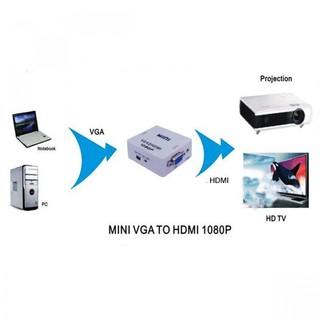 VGA To HDMI Video Converter - W...