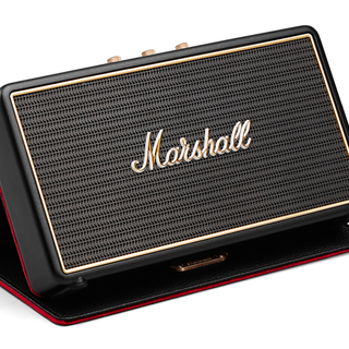 Marshall Stockwell Portable Bluetooth Speaker with Case