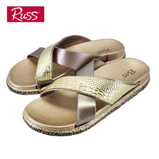 Russ Ladies Slides - SLG33011T7 (Gold)