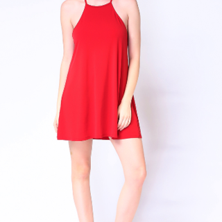UROPA Halter neck mini dress AUV003085