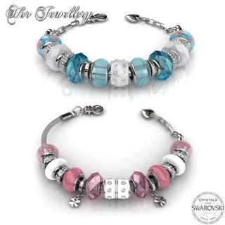 Charm Bracelet Bundle (Blue + Pink)