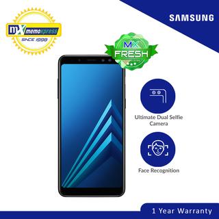 Samsung Galaxy A8 2018 32GB (Black) Free Capdase Power bank 5000 mAh