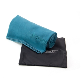 TOWELITE BEACH TOWEL 30 X 60 INCHES - TEAL GREEN
