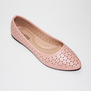MYLENE Flat Shoes With Lazercut Design