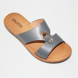 VIANKA Double Strap Flat Sandals