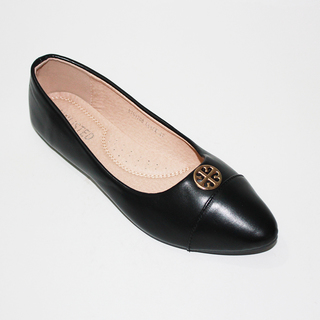 BEVERLY Flat Shoes With Lazercut Design