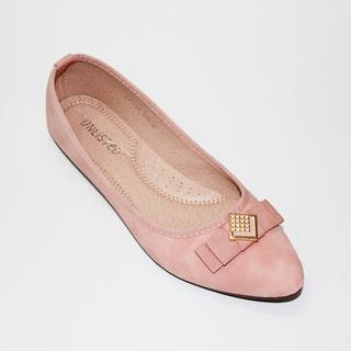 JAMIMA Flat Shoes With Lazercut Design