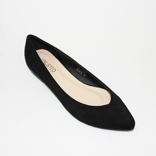 RINA Plain Flat Shoes made of Suede