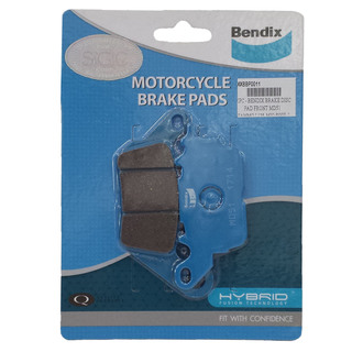 YAMMO I 125, MIO SOUL I 125 MAX - BENDIX BRAKE DISC PADS FRONT - MD51