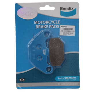 KYMCO, SUPER 8 - BENDIX BRAKE DISC PAD FRONT - MD43