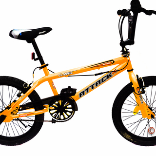 Bicycle Bmx 20 Attack Freestyle With Rotor And Footpeg - Yellow