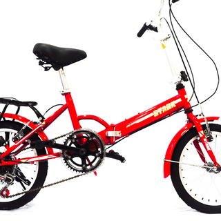 Stark Folding Bike 16 - Red